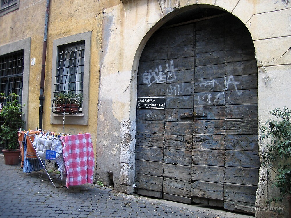 Trastevere, Rome, ITALY by hjaynefoster