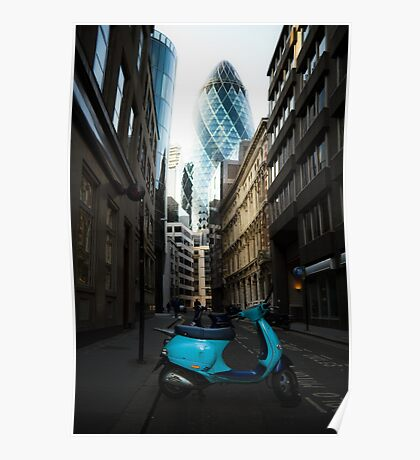 30 St Mary Axe - 1 Poster