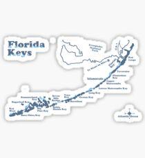 Die Florida-Schlüssel. Sticker