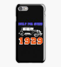 1929 SALOON iPhone Case/Skin