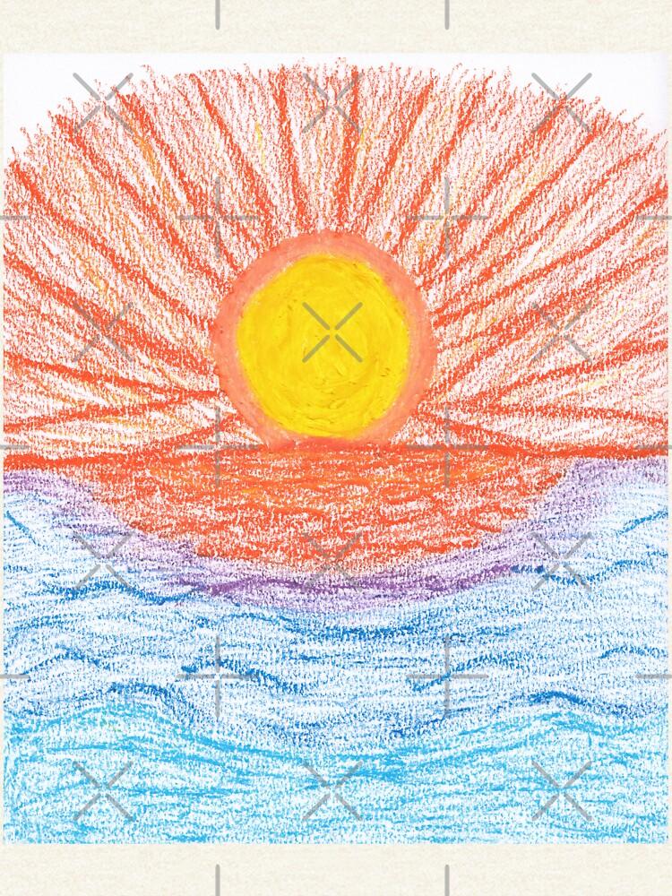 Merch #28 -- Sea Sunset by Naean