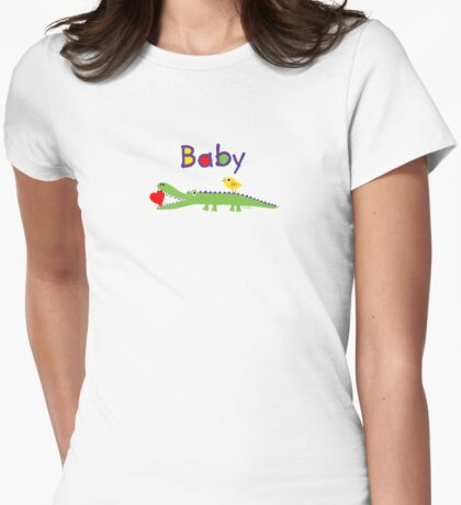 crocodile heart and chick for baby & kids T-Shirt