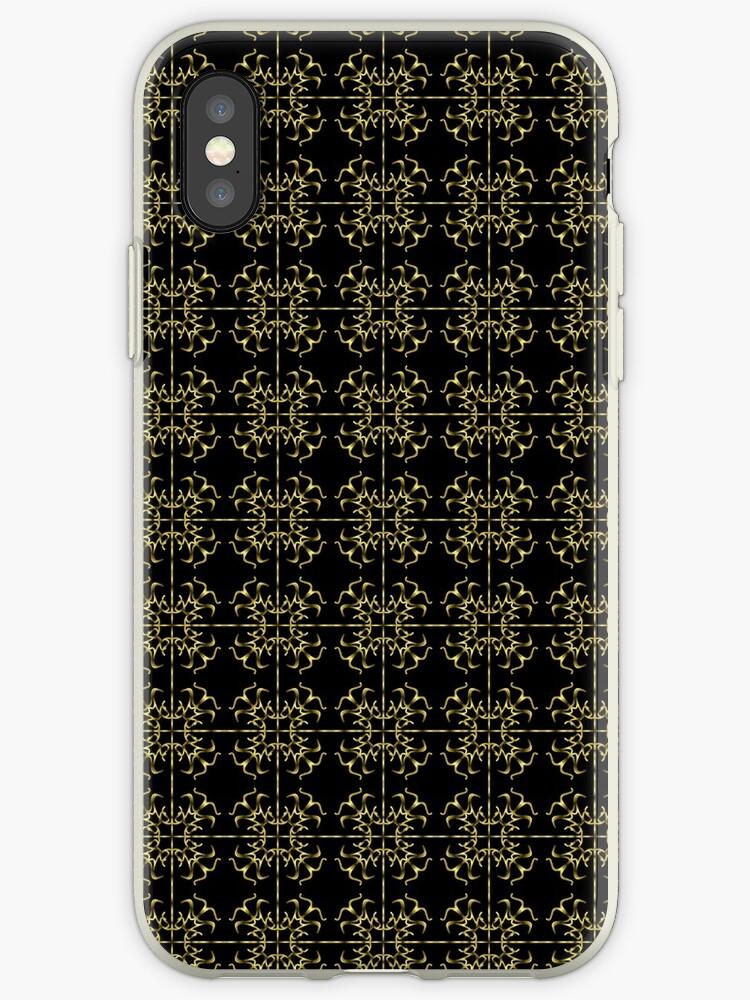 goldenes Muster, abstrakt, Ornament von rhnaturestyles
