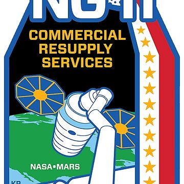 NG-11 SS Roger Chafee Logo by Spacestuffplus