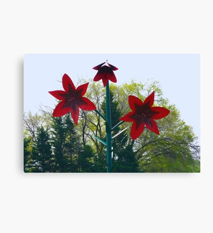 World's Largest Lily Canvas Print