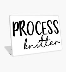 Process Knitter Laptop Skin