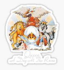 Queen - Ein Tag bei den Rennen (Album Cover Art) Englische Rockband Musik Aufkleber Kunst, Handwerk & Nähen Sticker