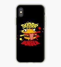 NEW! DURRR BURGER iPhone Case