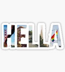 Hella Sticker
