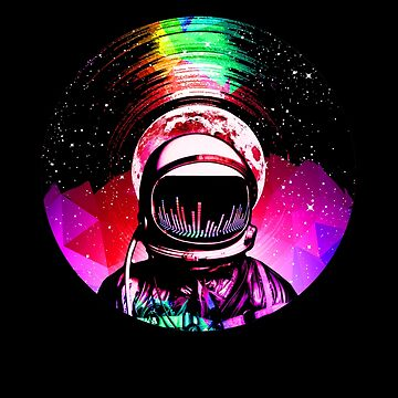 Astronaut LP (Weltraummusik) von robotface