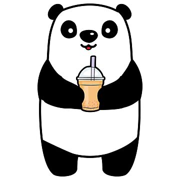 Bubble Tea Boba Panda by dealzillas