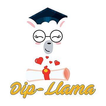 Senior Graduation TShirt 2019 Got My Dip-Llama Diploma Shirt by dealzillas