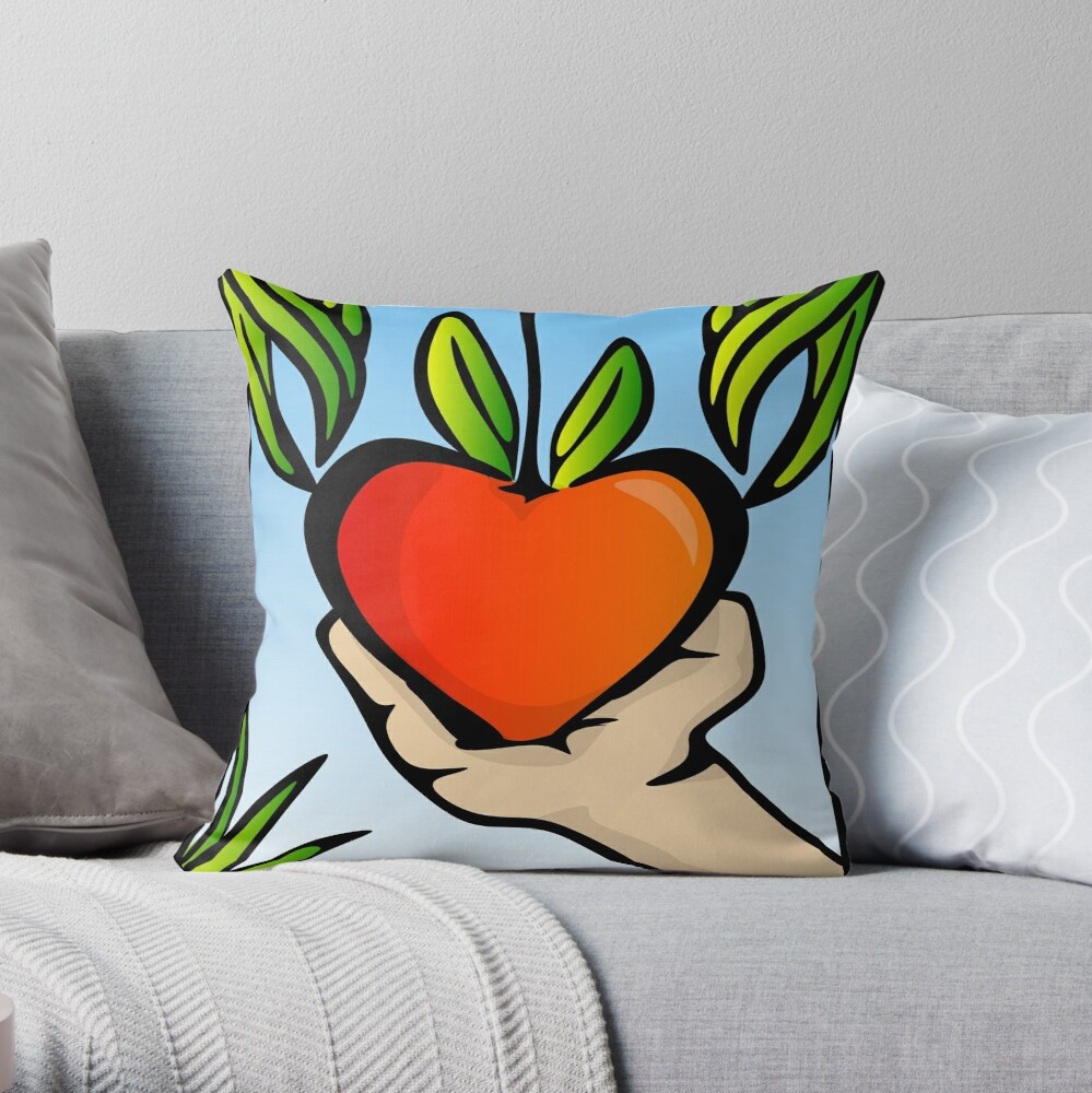 Pick Your Own Valentine... Throw Pillow
