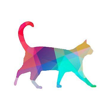 Geometric Cat by imoulton