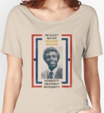Re-elect Mayor Goldie Wilson Women's Relaxed Fit T-Shirt