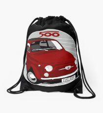 Fiat 500F rot Turnbeutel