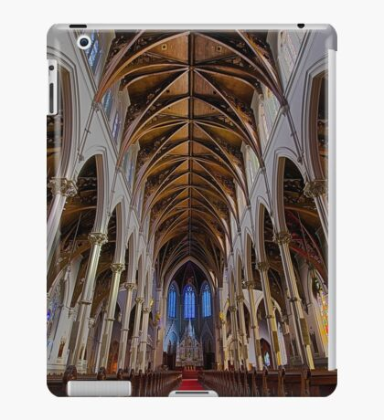 CATHEDRAL OF THE HOLY CROSS iPad Case/Skin