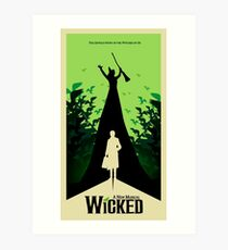 Wicked - Elphaba's Untold Story Art Print