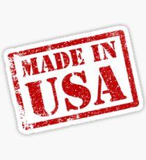 Pegatina Hecho en EE. UU., Hecho en América