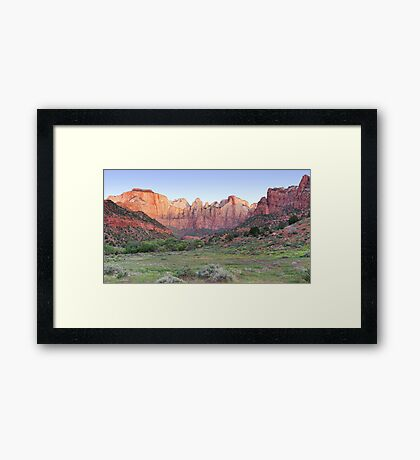 Tower of the Virgins Panorama Framed Print