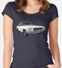 Holden HQ Kingswood Car T-Shirt Women's Fitted Scoop T-Shirt