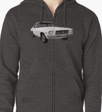 Holden HQ Kingswood Car T-Shirt Zipped Hoodie