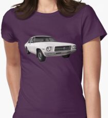 Holden HQ Kingswood Car T-Shirt Womens Fitted T-Shirt