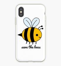 Vinilo o funda para iPhone ¡Salva a las abejas!