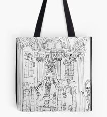 Italy-Rome - St. Peters Interior view Tote Bag