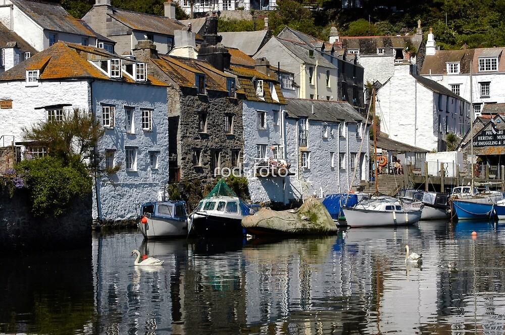 Polperro, Cornwall by rodsfotos