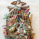 A Bird Cage Full by PrairieSparrow