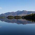 Skiddaw Reflections on Derwent Water by derekbeattie