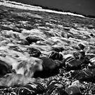 Stony Beach - Wembury in Devon by Steven Cliff