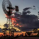 Outback Sunset by robcaddy