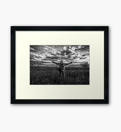 Fight the Wind Framed Print
