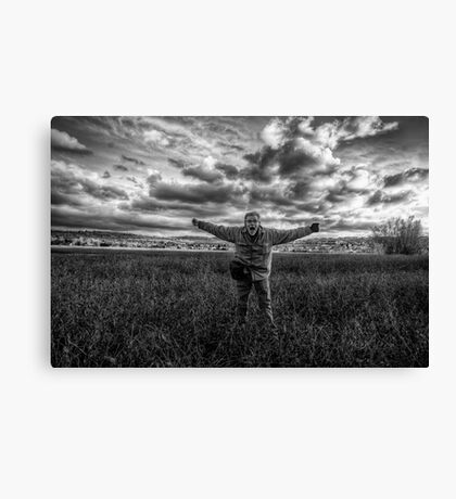 Fight the Wind Canvas Print