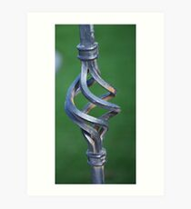 METAL TWIST Art Print