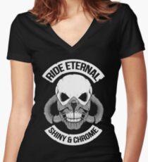 Ride Eternal Women's Fitted V-Neck T-Shirt
