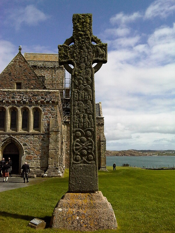Quot St Martin S Cross Iona Abbey Iona Scotland Quot By
