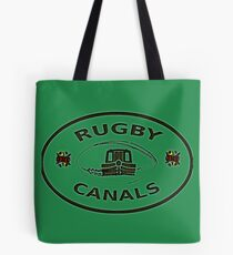 rugby canals plaque bywhacky Tote Bag