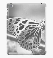 monochromatic butterfly iPad Case/Skin