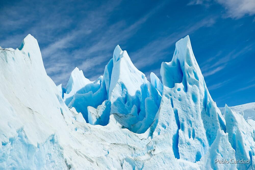 Perito Moreno glacier detail. by Pablo Caridad
