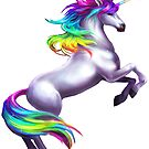 Rainbow Unicorn by derlaine