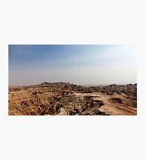 Badlands National Park .4 Photographic Print