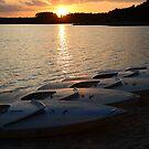Sailboats at Lake Crabtree IV by mojo1160