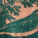 green bird by lakeca