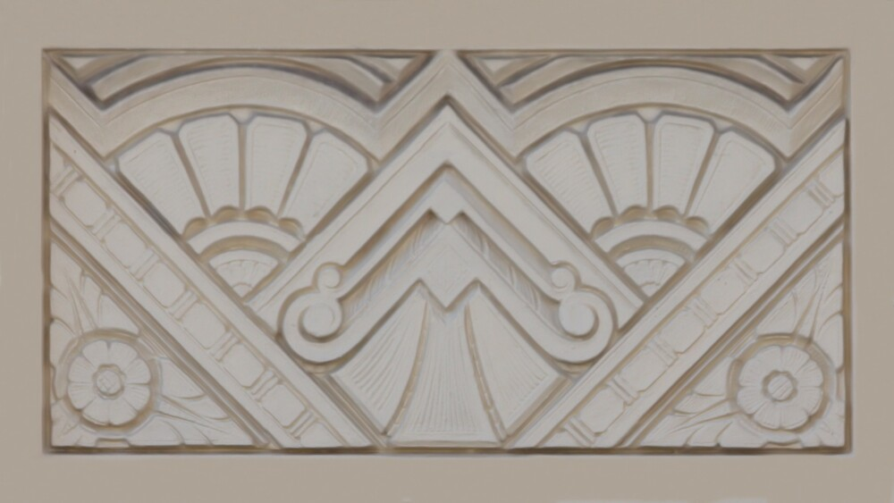 Quot Art Deco Relief Quot By Christopher Biggs Redbubble
