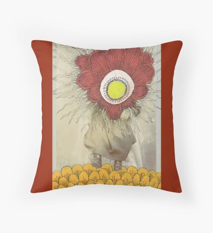The Birth of Kublai Khan Throw Pillow