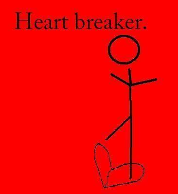 heart breaker by Amanda Huggins