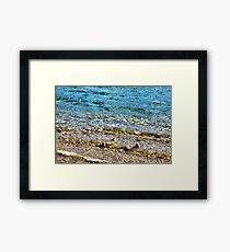 Beautiful Water Framed Print